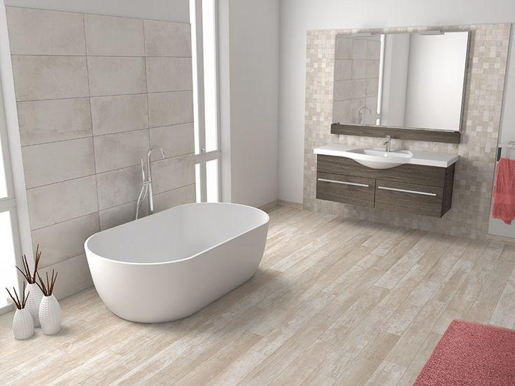 78 best ideas sobre pisos imitacion madera en pinterest - Suelos para cuartos de bano ...