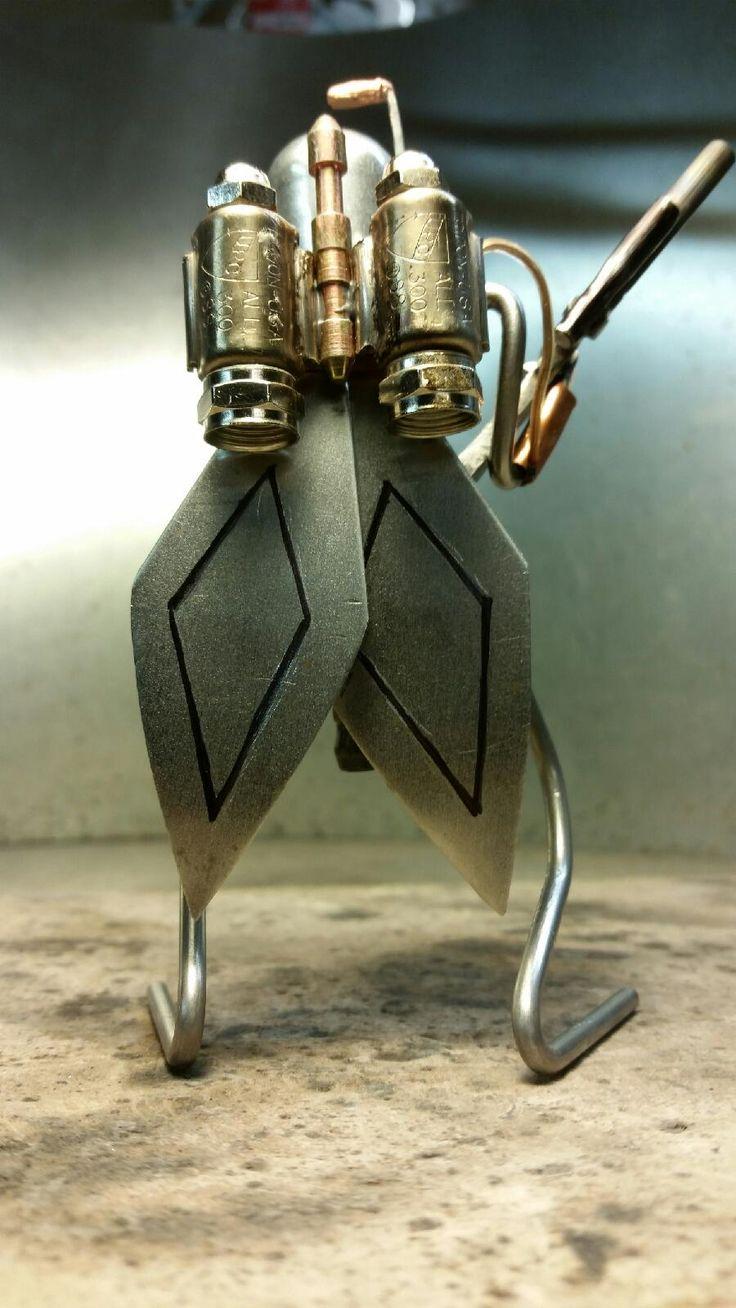 Bad Hammer Metalworks Boba Fett Bug Boba fett, Boba, Bugs