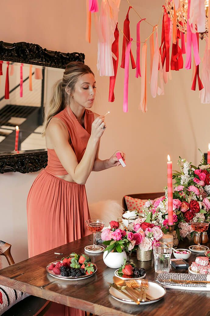 Hosting a Valentine's Day party? Whitney Port shares her best entertaining tips