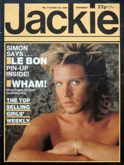 Jackie Mag 1985 ft. Simon Le Bon