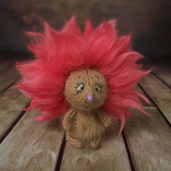Hedgehog Amigurumi stuffed Toy Hedgehog Stuffed Fluffy