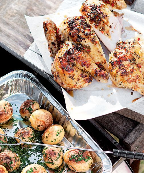 Marinated chicken. A staple at any barbecue that is sure to keep your guests coming back for more.  http://woolworths.com.au/wps/wcm/connect/Website/Woolworths/FreshFoodIdeas/Recipes/Recipes-Content/marinatedchicken  #woolworths #recipe #BBQ #barbecue #chicken