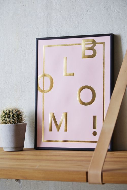 Bloom! Great in the pink version. Shop online. Photocredit: ILMT