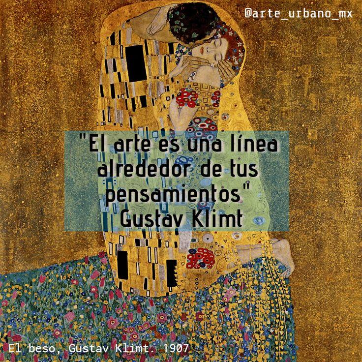 """Gustav Klimt fue un pintor simbolista austríaco, y uno de los más conspicuos representantes del movimiento modernista de la secesión vienes """"El arte es una línea alrededor de tus pensamientos"""" Síguenos  Instagram: https://www.instagram.com/arte_urbano_mx  Facebook: https://www.facebook.com/arteurbanomx"""