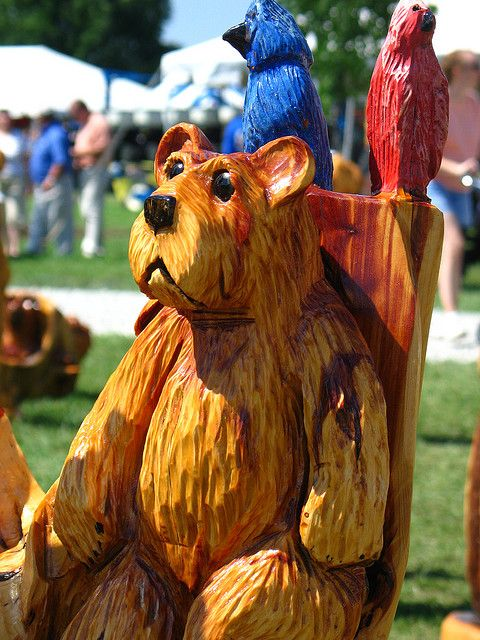 Chainsaw Wood Carvings | Chainsaw Wood Carvings | Flickr - Photo Sharing!