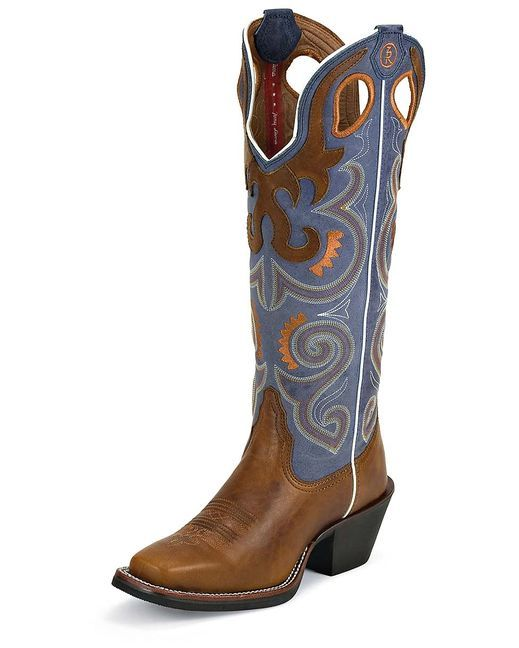 Tony Lama Copper Sunburst Boot