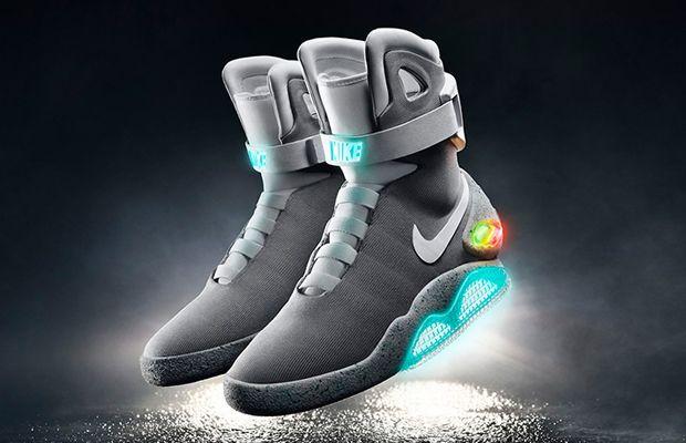 A Nike liberou oficialmente o lançamento de alguns pares do Air Mag 2016, o tênis usado por Marty McFly em De Volta Para o Futuro.