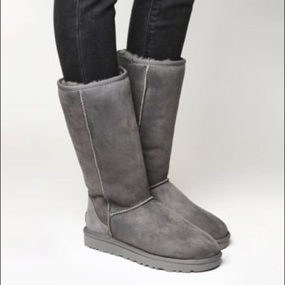 Tall Grey Uggs Womens Ugg Boots Boots Womens Uggs