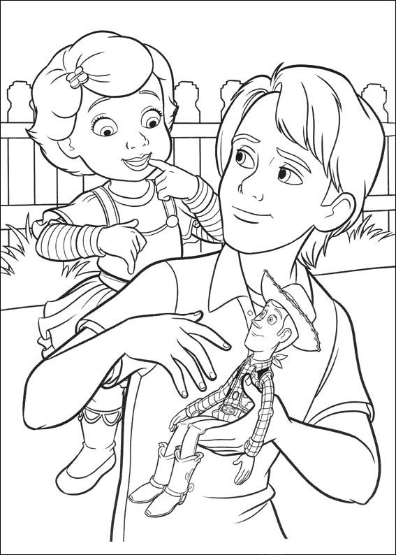 186 best Toy Story Coloring Pages images on Pinterest ...
