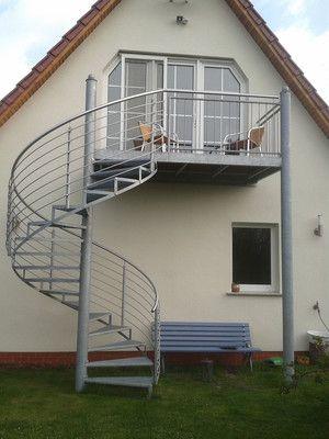 Balkone, Treppen und Geländer - Metallbau Goltings