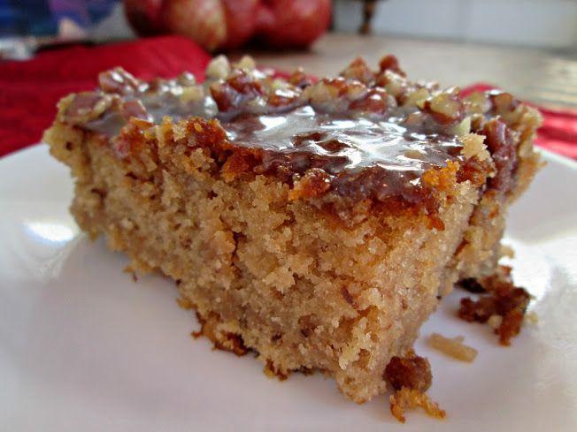 Pecan Praline Cake with Butter Sauce | Veronica's Cornucopia