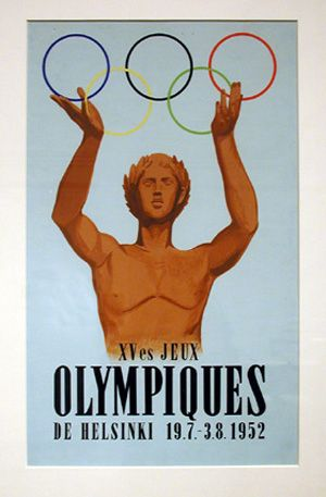Ars Olympica. Sketch Competitions for the 1952 Olympic Games, 2002