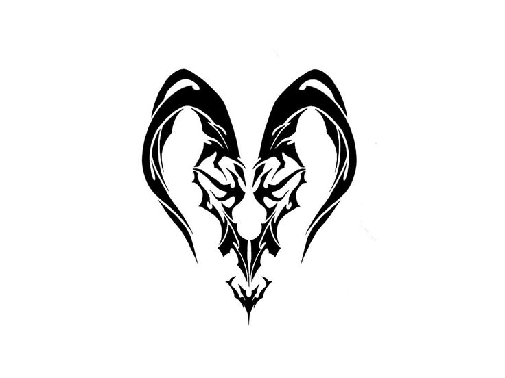 24 Best Chinese Capricorn Sign Tattoo Images On Pinterest