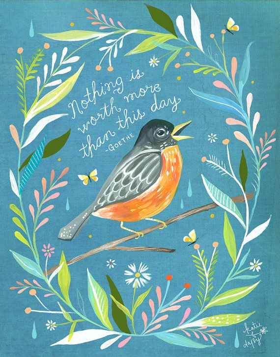 More Than This Day by Katie Daisy on Etsy