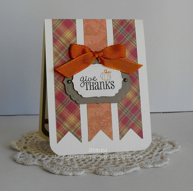 Stacey's Creative Corner: Give Thanks
