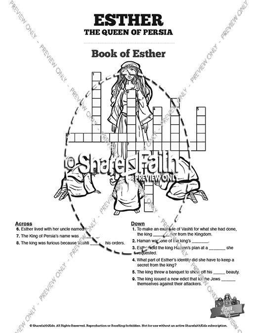 Atemberaubend Esther Malvorlagen Bibel Ideen - Beispiel ...