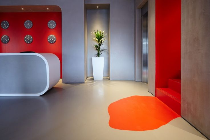 ArtSphere in Motion Zinc and Bespoke Red
