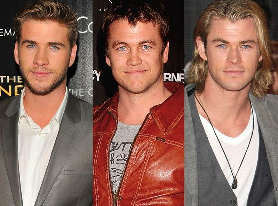 because 2 gorgeous hemsworth brothers wasnt enough...