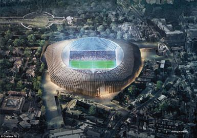 Football stadiums by Herzog & de Meuron in London, United Kingdom