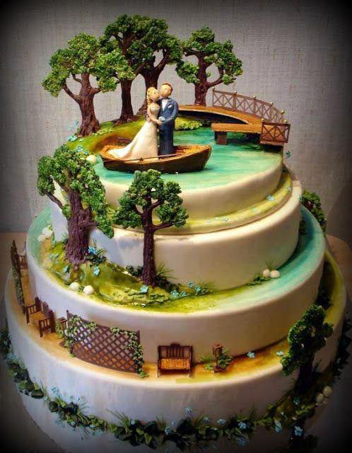 OĞUZ TOPOĞLU : alternatif düğün pastası süsleri 3