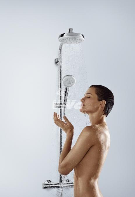 sprchový systém Hansgrohe Crometta 160 1jet Showerpipe