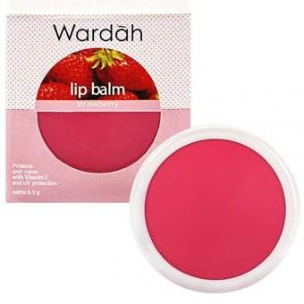 Belanja Wardah Lip Balm Strawberry Indonesia Murah - Belanja Lip Balm & Perawatan Bibir di Lazada. FREE ONGKIR & Bisa COD.