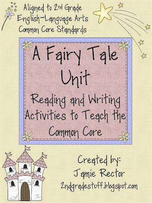 Fairy Tale Common Core Unit on TpT!  25 Reading and Writing Activities to Engage Higher Order Thinking with Fairy Tales :)
