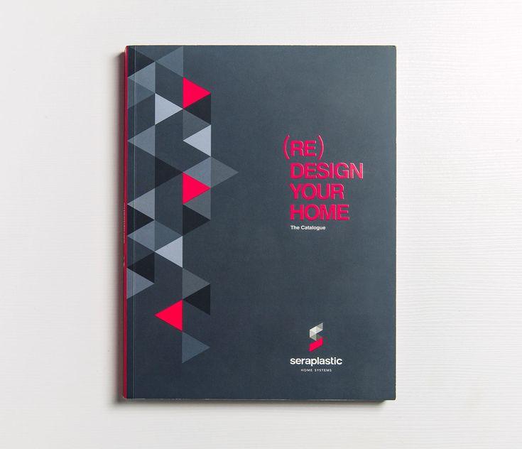 Ideazione e realizzazione del nuovo catalogo prodotti Seraplastic, in linea con l'immagine nuova e moderna ideata contestualmente, e shooting dei prodotti.