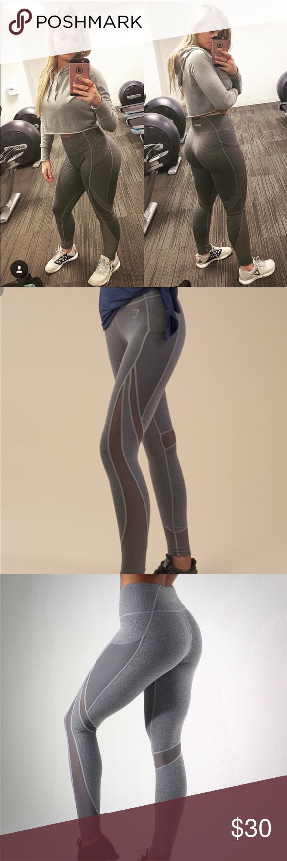 Gymshark Sleek Sculpture Leggings Charcoal LARGE Brand new without tags!! Send me an offer!! I will sell them lower than the current Gymshark Blackout sale price! Plus way faster shipping! Gymshark Pants Leggings