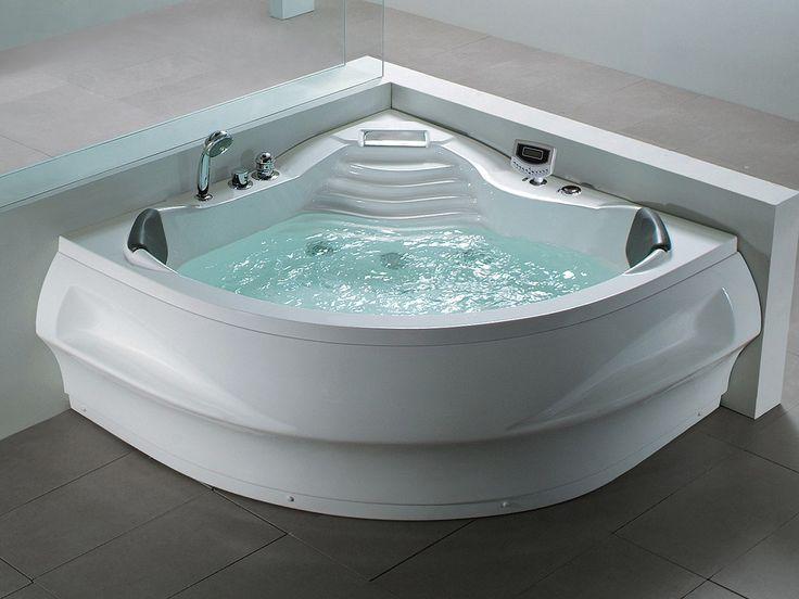 30 best Eckbadewanen images on Pinterest Bathtubs, Wellness and - whirlpool badewanne designs jacuzzi