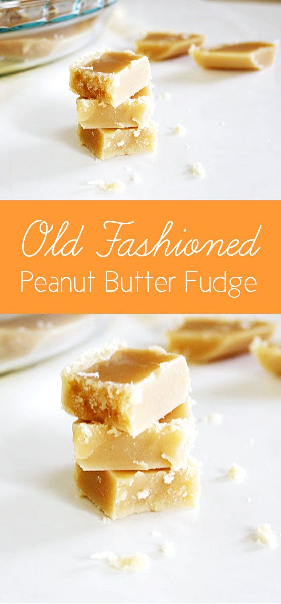 Old Fashioned Peanut Butter Fudge recipe
