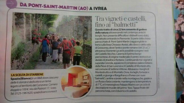Da pont-saint-martin a Ivrea..walking