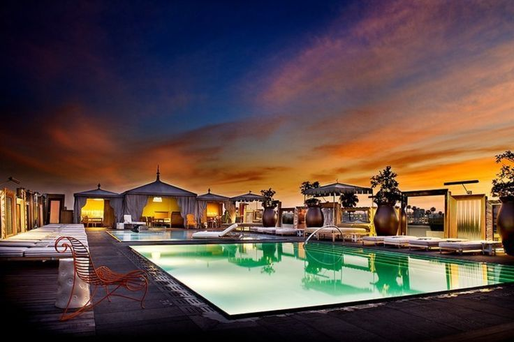 The Splashiest: Altitude at The SLS Hotel Beverly Hills