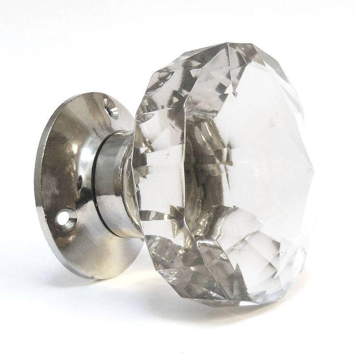 Door Handles Glass Knob