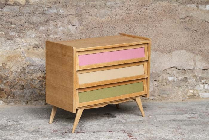 75 best images about meuble vintage ou relook on pinterest pastel furnitu - Meuble vintage relooke ...