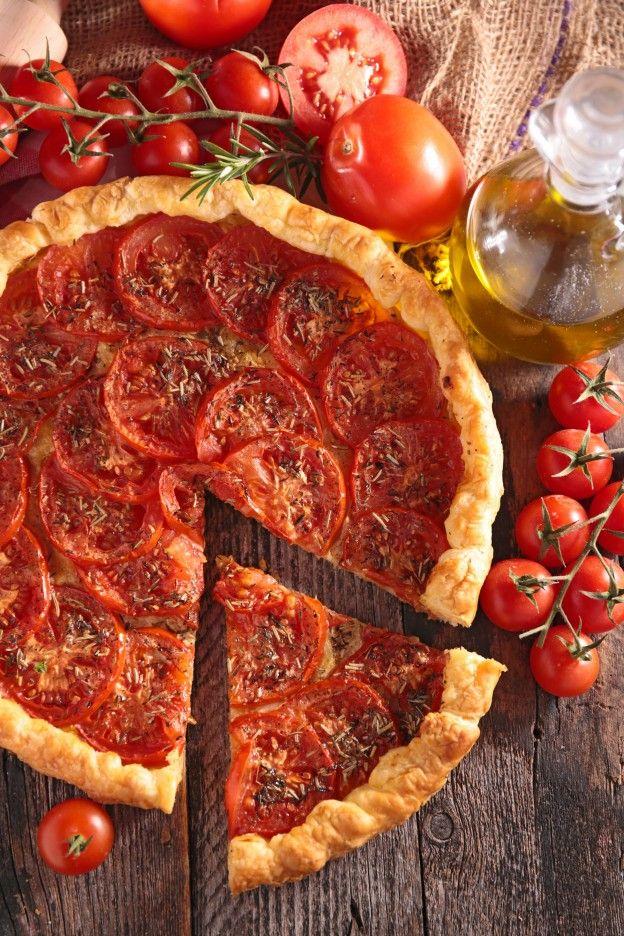 """Diaporama """"15 repas à prix MINI"""" - Tarte à la tomate"""