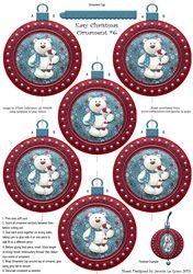 Easy Christmas Ornament  6 on Craftsuprint - View Now!