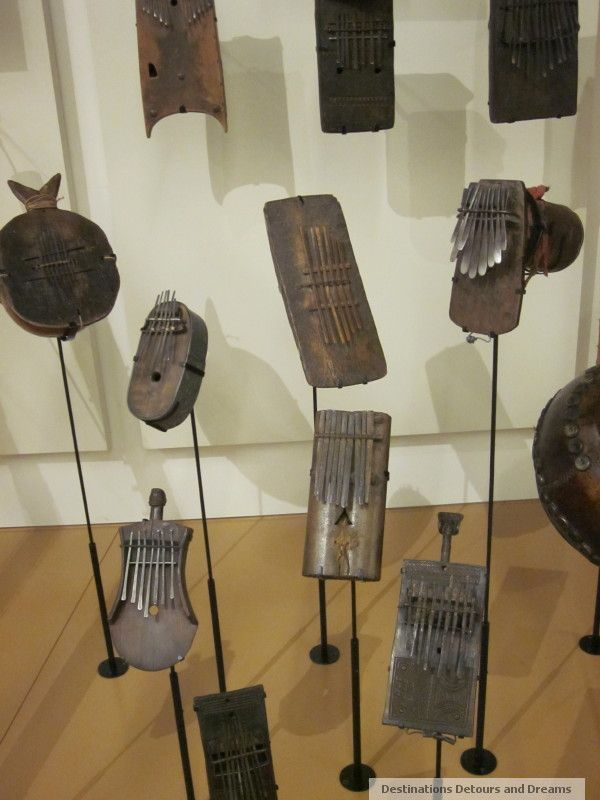 Thumb pianos at Phoenix Musical Instrument Museum