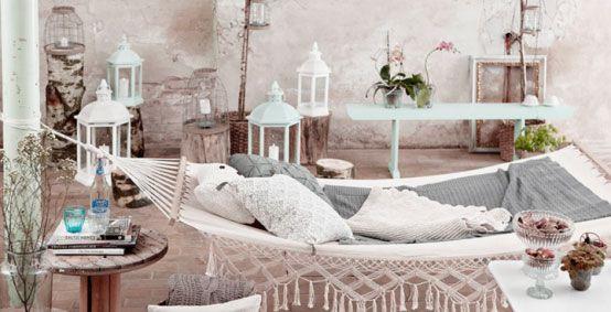 Moroccan outdoor hammock - Marokkaans
