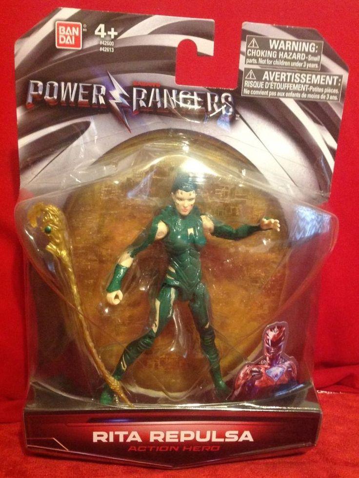 Power Rangers 2017 Rita Repulsa Movie Figure Action Figure Green Ranger NEW MIB #Bandai