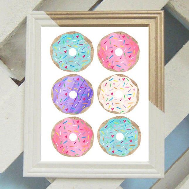 15 Drool-Worthy Donut-Dekorationsartikel, die Sie in Ihrem Leben brauchen! über Brit + Co