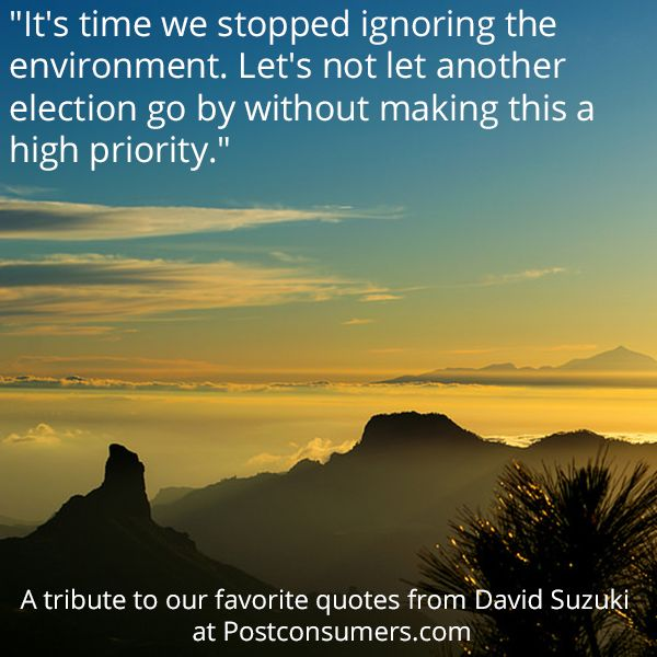 We need to #savetheplanet - and that starts with #election2016
