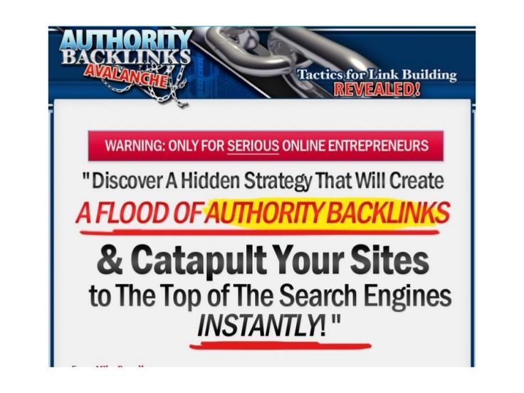 high-pr-authority-backlinks-tactics-for-link-building-revealed by mario365 via Slideshare