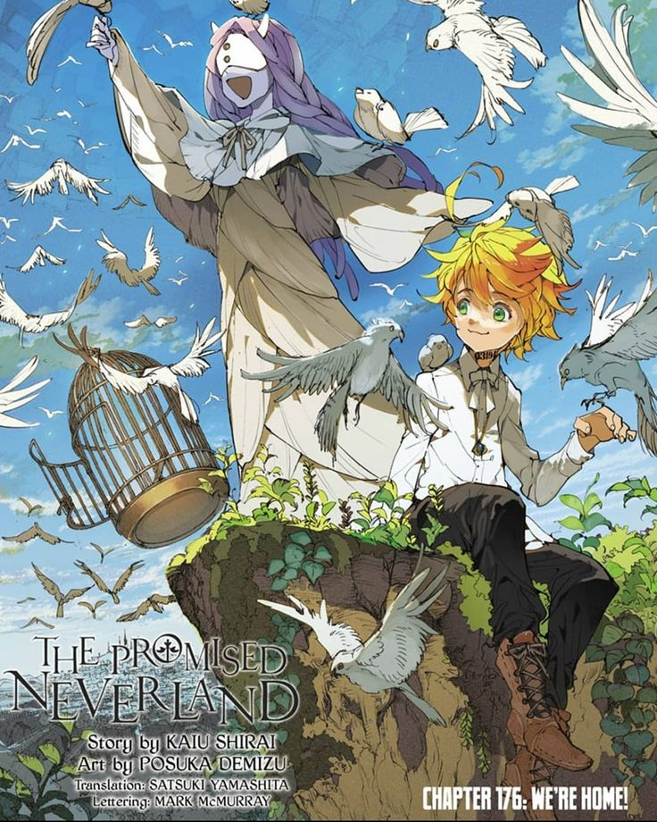 390 Me Gusta 0 Comentarios The Promised Neverland Tpntrash En Instagram Chapter 176 D In 2020 Neverland Manga Covers Manga