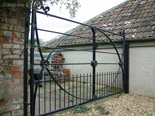 Traditional wrought iron Gates,Devon and Somerset. These are so different to anything else I've seen. Love the castings.