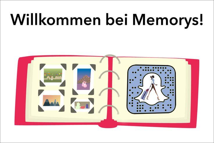 Neue Funktion bei Snapchat mit gespeicherten Inhalten. Was ist Snapchat Memorys? Wie funktioniert Snapchat Memorys? Wie kann man alte Videos und Bilder