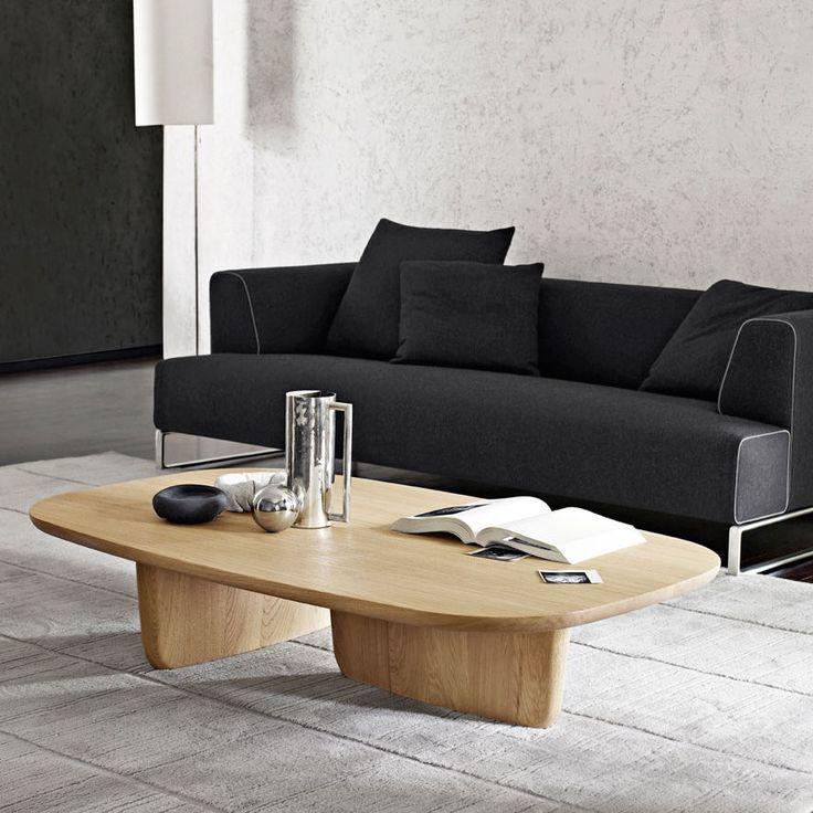 Mesa de centro / ovalada / de interior / moderna TOBI-ISHI B&B Italia