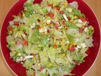 Der perfekte Barbecue-Salat nach Nadine-Rezept mit Bild und einfacher Schritt-für-Schritt-Anleitung   – Kochen
