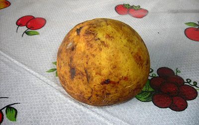 Bacuri / Brazilian fruit which resembles the Philippine Santol