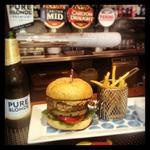 Rydges South Bank - Aussie burger for #AustraliaDay
